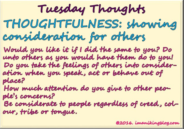 Tuesday Thoughts_010316